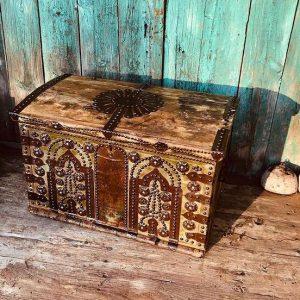Osmanlı dönemi ermeni usta işi haçlı şifreli zilli kilidi Ürün